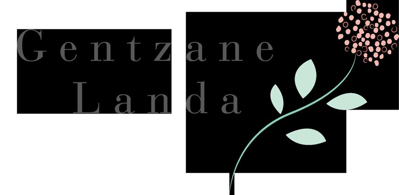 Bordados artesanales Gentzane Landa Logotipo